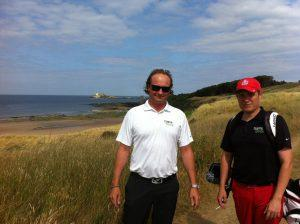 GameBook's Mikko Manerus (left) and Kimmo Ekroth playing at The Renaissance Club.