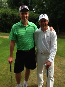 Gary and I at The Wentworth Club.
