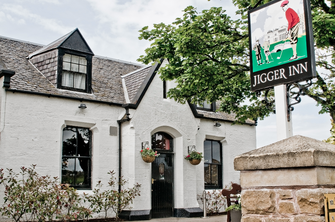 The Jigger Inn at St Andrews is golf's most famous 19th Hole.