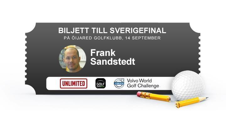 Frank Sandstedt, Nässjö GK