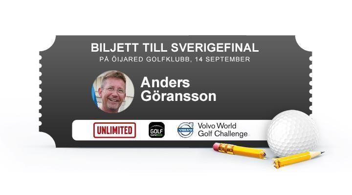 Anders Göransson, Ringenäs GK