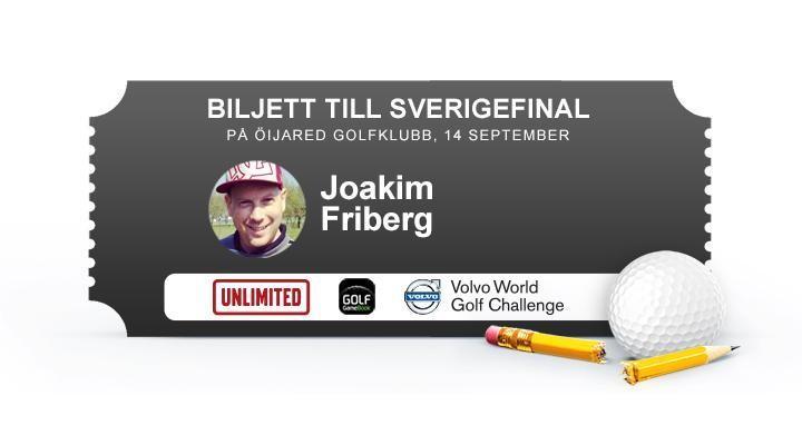 Joakim Friberg, Svalövs GK