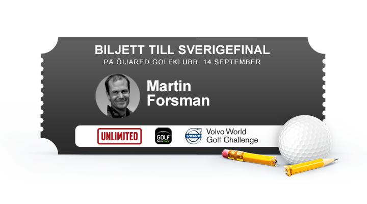 Martin Forsman, Barsebäck Golf & CC