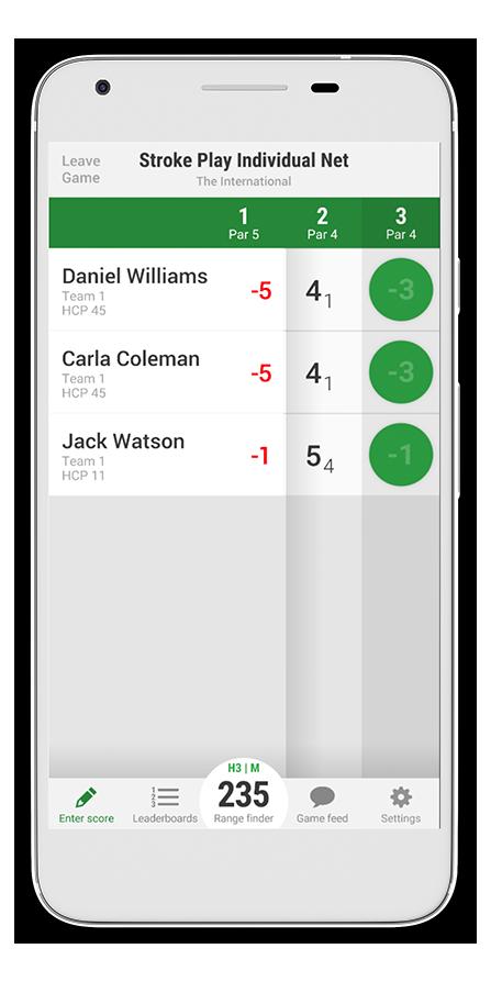 Golf GameBook | Our App | Golf Digital Scorecard, GPS
