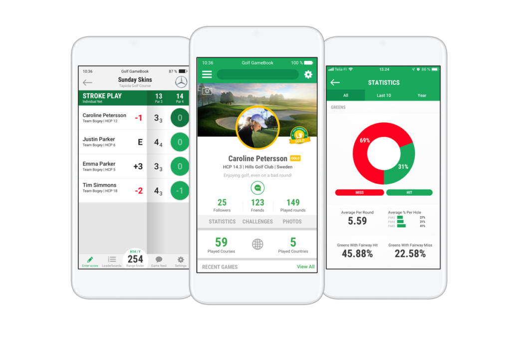 Golf GameBook | Golf Live Scoring, GPS & Social App | Golf Digital